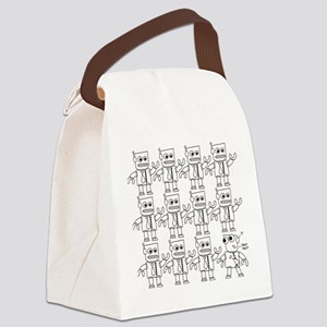 What the ?! Canvas Lunch Bag