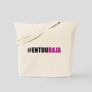 Hashtag #Entouraja Tote Bag