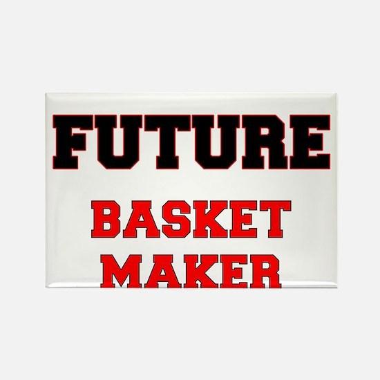 Future Basket Maker Rectangle Magnet