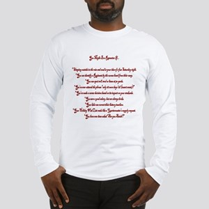 You Might Be a Reenactor If... Long Sleeve T-Shirt