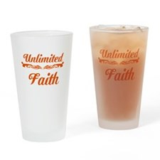 Unlimited Faith Drinking Glass