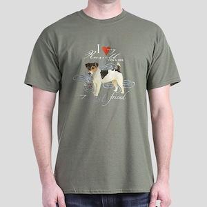 Russell Terrier Dark T-Shirt