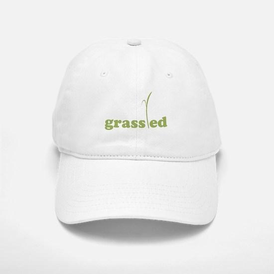 Grass Fed Organic Lifestyle Baseball Baseball Baseball Cap