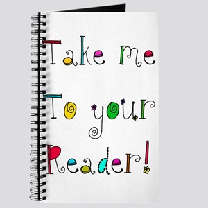 take me to your READER Journal