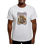 Rocking Baby Jesus Ash Grey T-Shirt