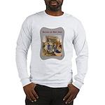 Rocking Baby Jesus Long Sleeve T-Shirt