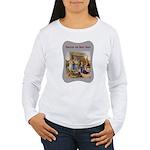 Rocking Baby Jesus Women's Long Sleeve T-Shirt