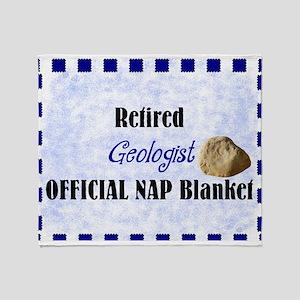 retired geologist blanket 2 Throw Blanket