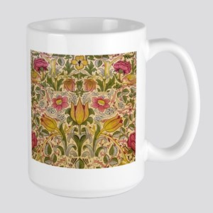 Morris Flowers and Birds design Mug