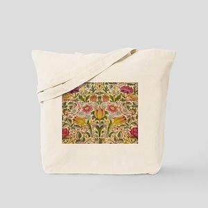 Morris Flowers and Birds design Tote Bag
