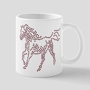 Dotted Horse Mug
