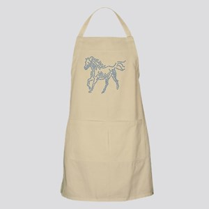 Dotted Horse Apron