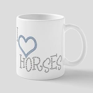 I Love Horses Mug