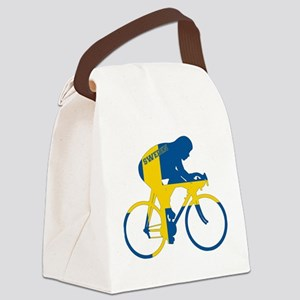 Sweden Cycling Canvas Lunch Bag