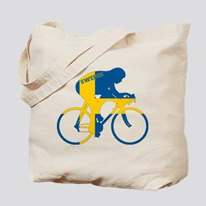 Sweden Cycling Tote Bag