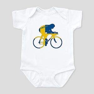 Sweden Cycling Infant Bodysuit