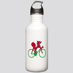 Wales Cycling Stainless Water Bottle 1.0L
