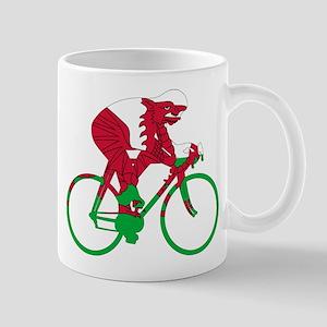Wales Cycling Mug