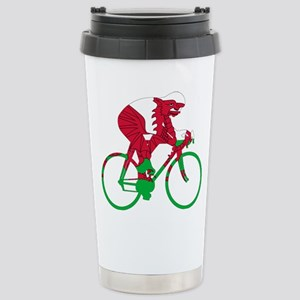 Wales Cycling Stainless Steel Travel Mug
