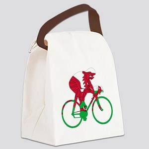 Wales Cycling Canvas Lunch Bag