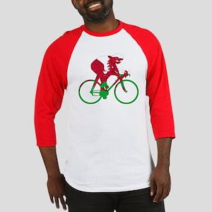 Wales Cycling Baseball Jersey