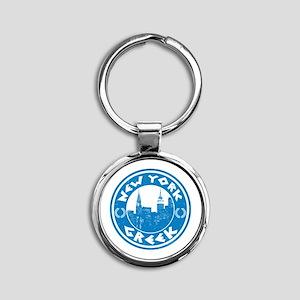New York Greek American Keychains