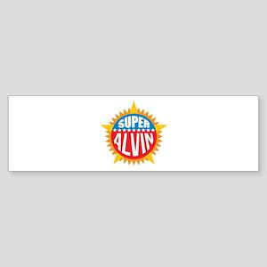 Super Alvin Bumper Sticker