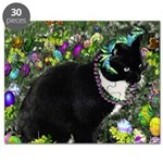 Freckles the Tux Kitty in Easter Eggs Puzzle