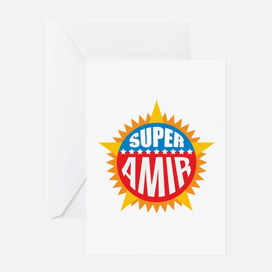 Super Amir Greeting Card