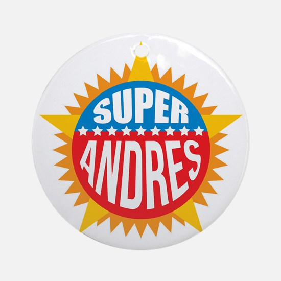 Super Andres Ornament (Round)