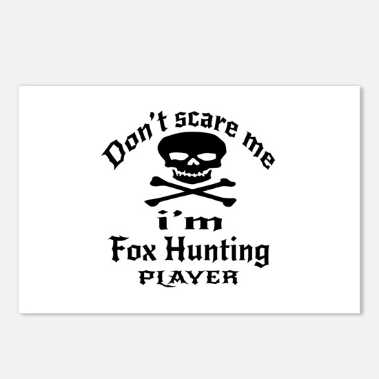 Do Not Scare Me I Am Fox Postcards (Package of 8)