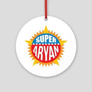 Super Aryan Ornament (Round)