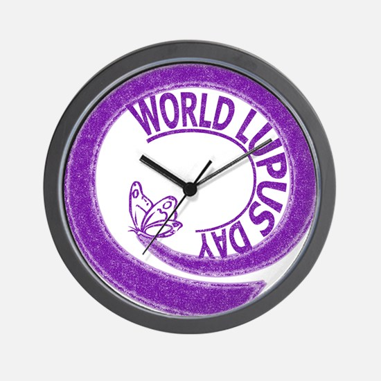 World Lupus Day Wall Clock