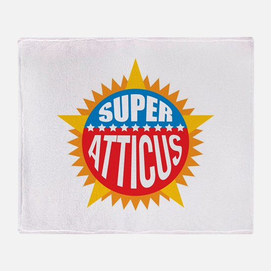 Super Atticus Throw Blanket