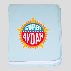 Super Aydan baby blanket