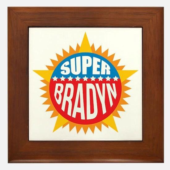 Super Bradyn Framed Tile