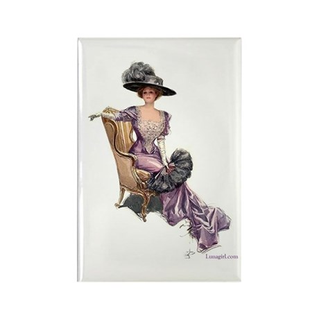 Victorian Lady Harrison Fisher Elegant Rectangle M