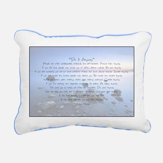 Cute Do Rectangular Canvas Pillow