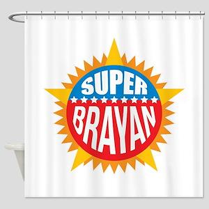 Super Brayan Shower Curtain