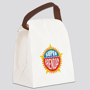 Super Brendan Canvas Lunch Bag