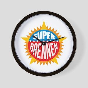 Super Brennen Wall Clock