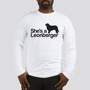 She's a Leonberger Long Sleeve T-Shirt