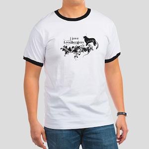 I Love Leonbergers T-Shirt