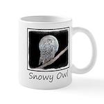 Snowy Owl and Moon 11 oz Ceramic Mug