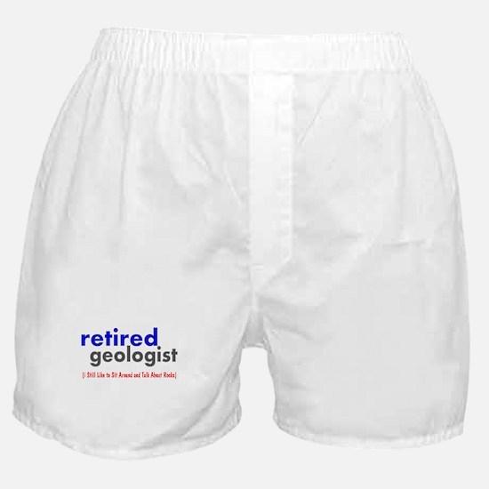 retired geologist 4 Boxer Shorts