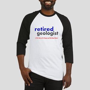 retired geologist 4 Baseball Jersey