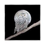 Snowy Owl and Moon Queen Duvet