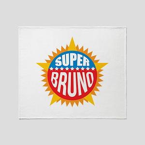 Super Bruno Throw Blanket