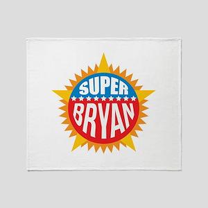Super Bryan Throw Blanket