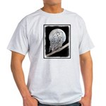 Snowy Owl and Moon Light T-Shirt